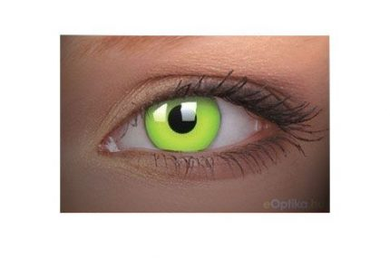 ColourVUE Party UV Verde (2 pz) - Lente cosmetica annuale coprente