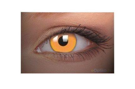 ColourVUE Party UV Arancione (2 pz) - Lente cosmetica annuale coprente