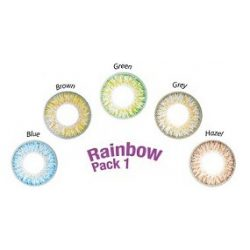 ColourVUE TruBlends One-Day Rainbow Pack 1 (10 pz), Lenti colorate giornaliere