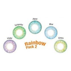 ColourVUE TruBlends One-Day Rainbow Pack 2 (10 pz), Lenti colorate giornaliere