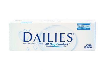 Focus Dailies All Day Comfort Progressives (30 pz), Lenti a contatto giornaliere - prodotto fuori produzione