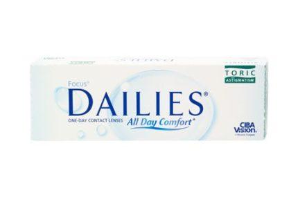 Focus Dailies All Day Comfort Toric (30 pz), Lenti a contatto giornaliere toriche