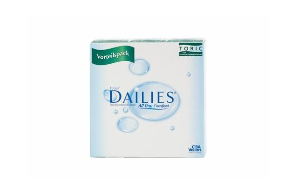 Focus Dailies All Day Comfort Toric (90 pz), Lenti a contatto giornaliere