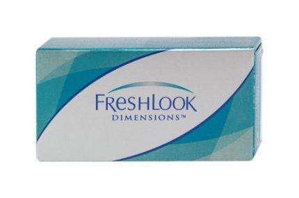 FreshLook Dimensions UV (2 pz), Lenti a contatto colorate mensili