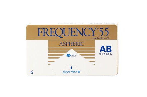 Frequency 55 Aspheric (3 pz), Lenti a contatto mensili