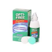 OPTI-FREE Express (120 ml), Soluzione per lenti a contatto + 1 portalenti