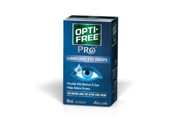 Opti-Free Pro Lubricant Eye Drops (10 ml), Collirio