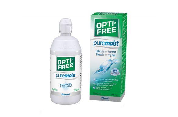 OPTI-FREE PureMoist (300 ml), Soluzione per lenti a contatto + 1 astuccio
