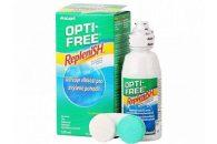 OPTI-FREE Replenish (120 ml), Soluzione per lenti a contatto + 1 portalenti - prodotto fuori produzione
