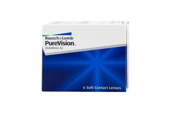 PureVision (6 pz), Lenti a contatto mensili