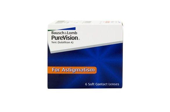 PureVision Toric (6 pz), Lenti a contatto mensili
