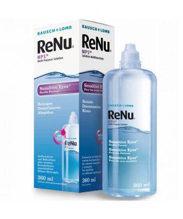 ReNu MPS Sensitive Eyes (360 ml), Soluzione per lenti a contatto + 1 portalenti