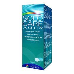 SOLO-care Aqua (360 ml), Solzuione per lenti a contatto + 1 portalenti