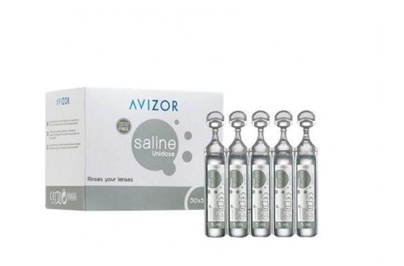 Saline Unidose (30x5 ml),  Soluzione per lenti a contatto