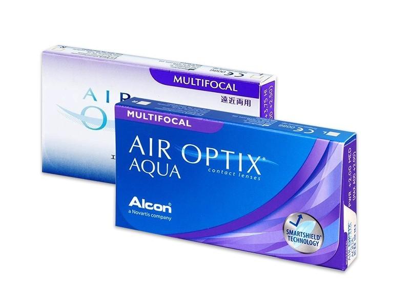 Lenti a contatto Air Optix Aqua Multifocal (6 pz)